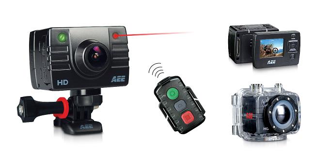 caméra AEE SD23 accessoires