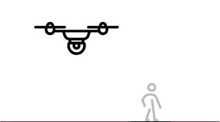survol personnes drone de loisir