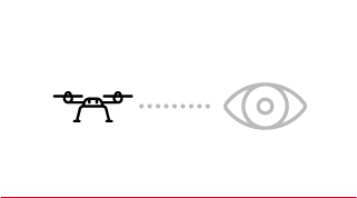 visuel sur drone de loisir