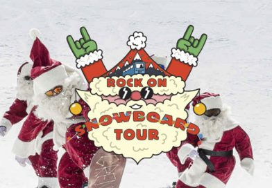 Merry ROCK ON SNOWBOARD TOUR 2017 !