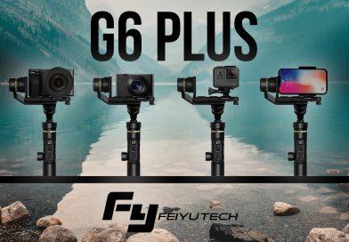 Le G6 plus, nouveau stabilisateur ultra polyvalent de Feiyu Tech se dévoile