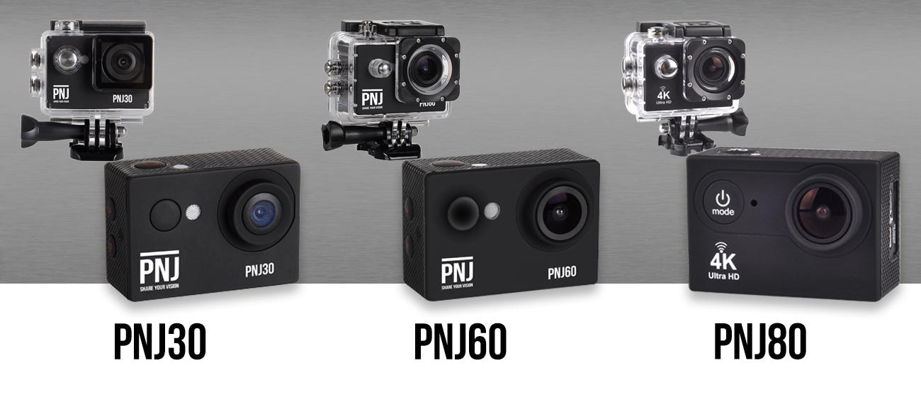 Comparatifs de caméras de sport été 2019