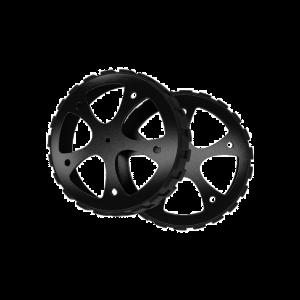 Lot de 2 roues pour drone PETRONE Fighter drone