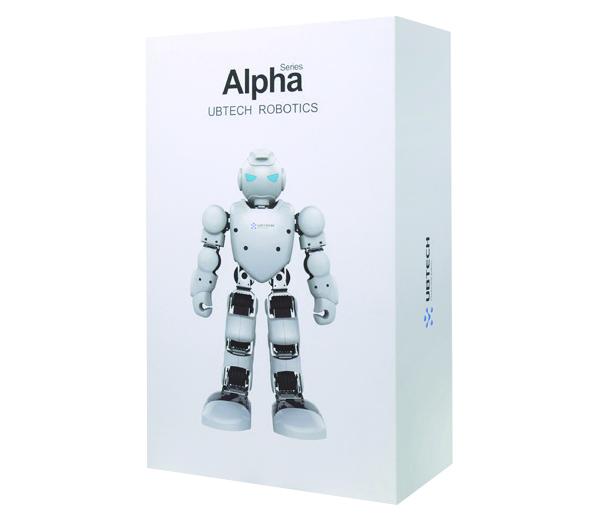 Inclus dans le pack : 1 robot humanoïde Alpha A…