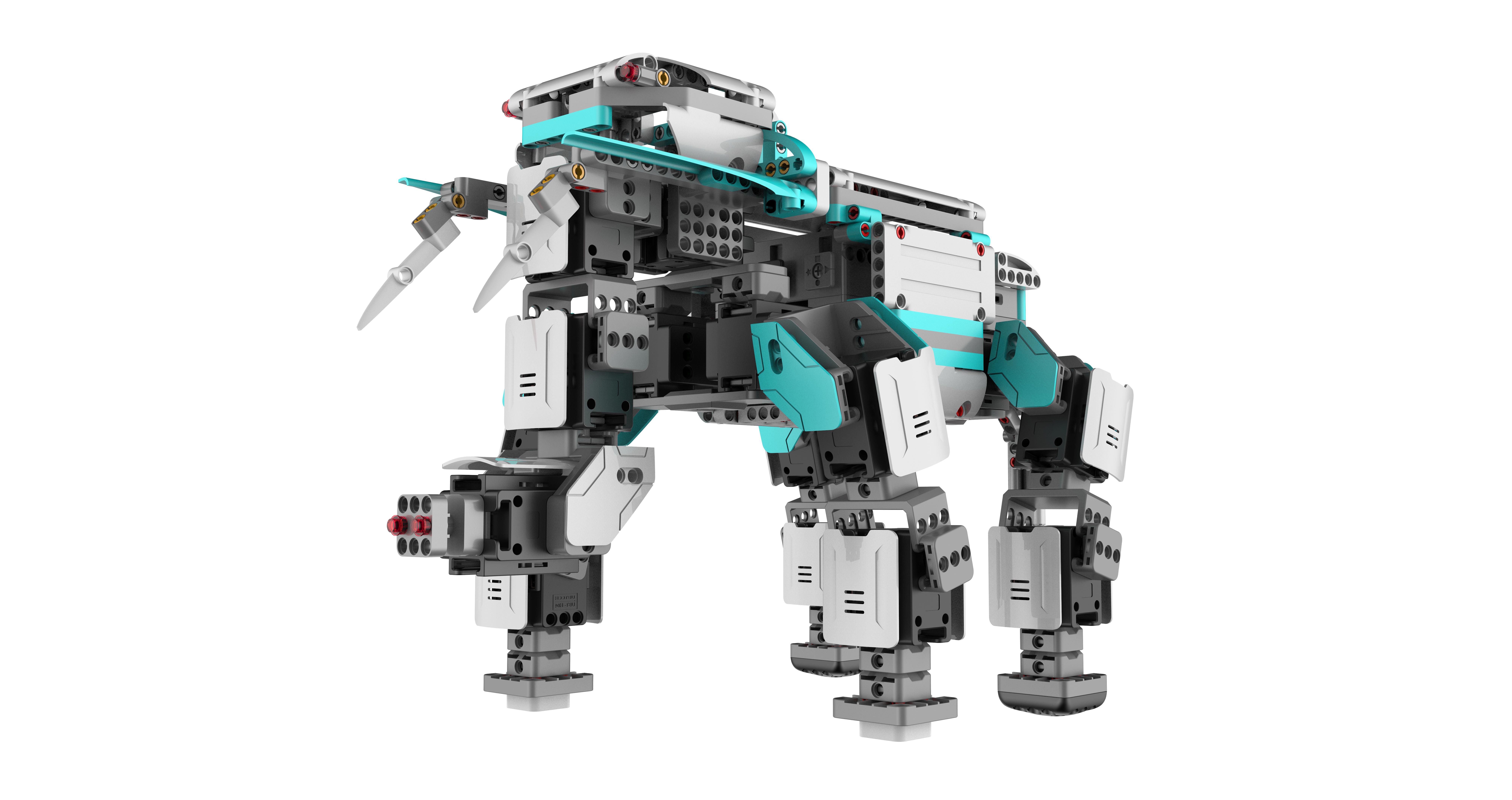 La technologie servo Ce sont les 16 servomoteurs robotiques qui…