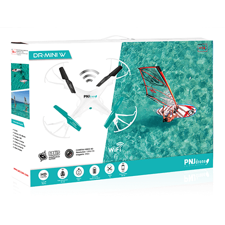 Inclus dans le pack: Drone avec caméra amovible Radio-commande 2.4GHz…