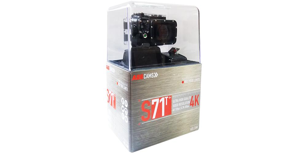 Inclus dans le pack : 1 action cam S71T Caisson…