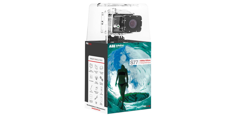Inclus dans le pack : Caméra S77 Ecran TFT amovible…