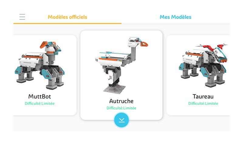 Jimu Mini : le kit débutants Avec 4 servomoteurs robotique…