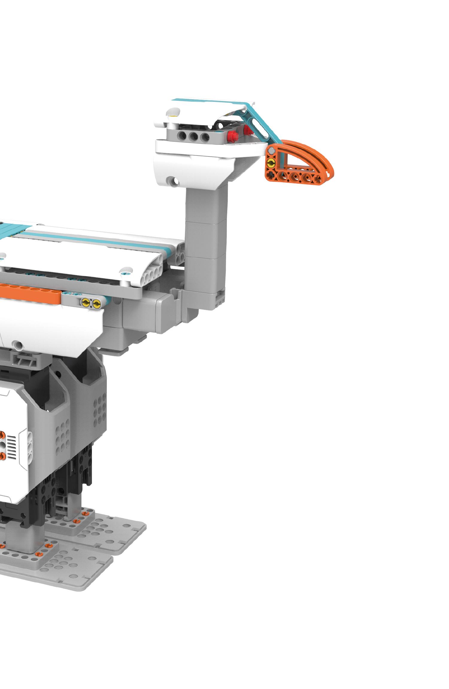 Servo technology The 4 robotics servomotors that serves as articulations…