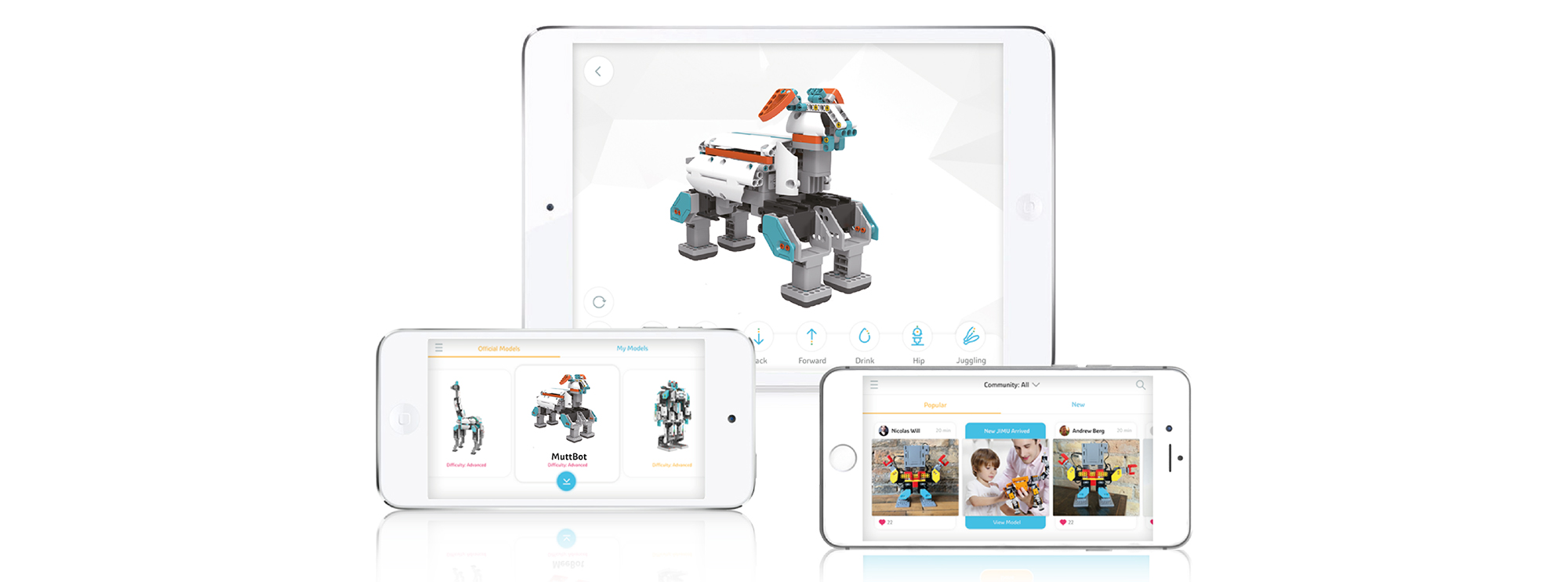 Jimu Robot – Kit Explorateur