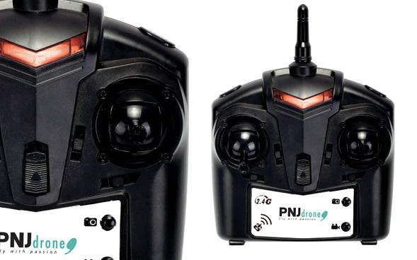Pilotage intuitif La radio-commande 2.4GHz fournie dans le pack est…