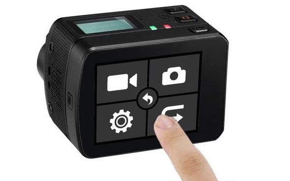 Contrôle de la caméra à distance grâce au Wi-Fi intégré…