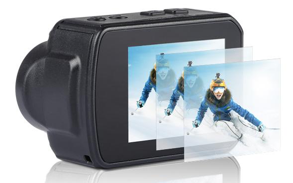 Capteur G-sensor Grâce à sa fonction G-sensor, l'enregistrement vidéo se…