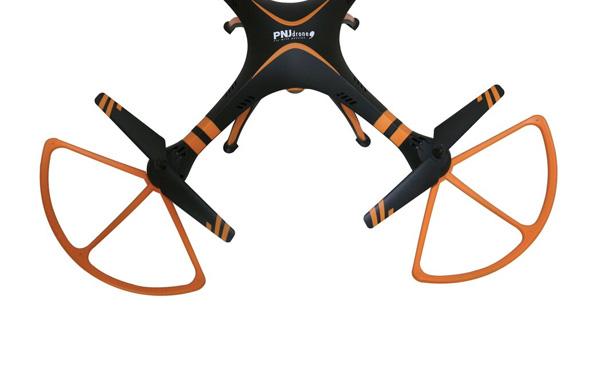 Design et autonomie L'URANOS mesure 540x540x170 mm et pèse 365g.…