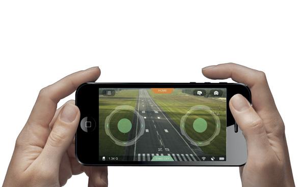 3 modes de contrôle Par défaut, le smartphone est configuré…
