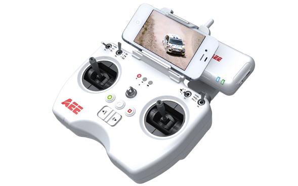 Radio-commande haute technologie Contrôlez votre drone grâce à la radio-commande…