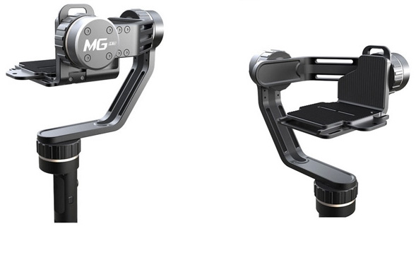 Appareils photo compatibles Le steadycam MG Lite est capable de…