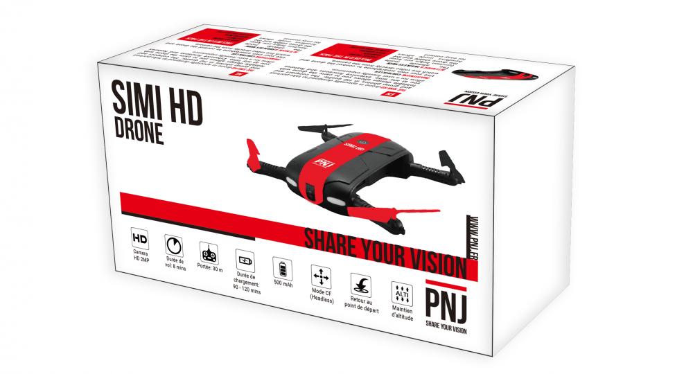 Inclus dans le pack : X1 drone SIMI HD X4…