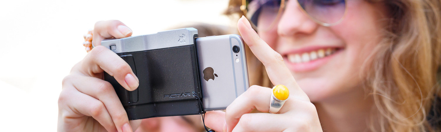 PICTAR ONE+ GRIP POUR IPHONE