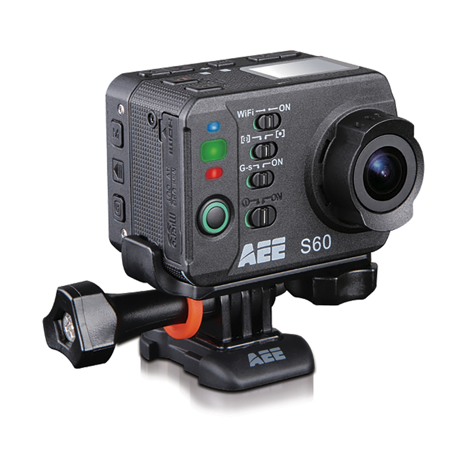 Included in the pack : S60 action cam Up-to-100m waterproof…