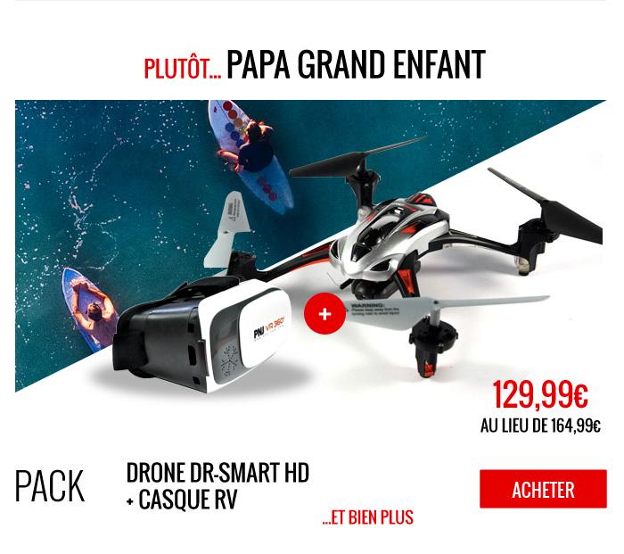 Pack exclusif drone fête des pères