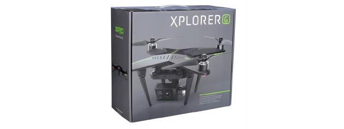 Ce pack inclus : 1X Drone XIRO Xplorer G 1x…