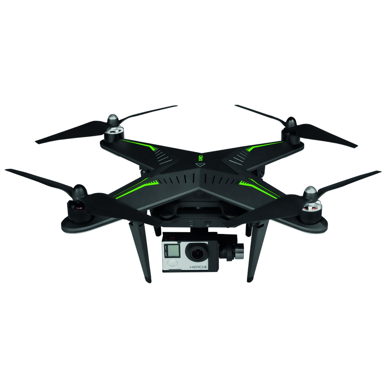 drone xiro xplorer g avec nacelle stabilis e compatible gopro 3 et 4. Black Bedroom Furniture Sets. Home Design Ideas