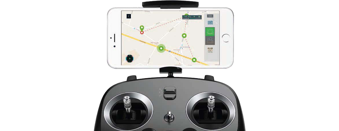 Pack drone Xiro Xplorer G avec nacelle stabilisée pour GoPro