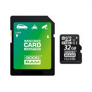 32GB class 10 UHS-I U3 MicroSD