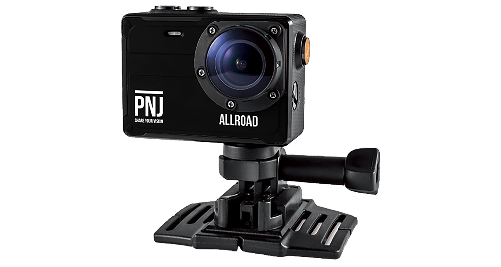 The Allroad cam allows you to make recordings at the…