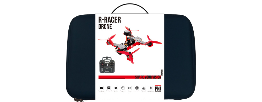 Included in the pack : 1x R Racer drone 1x…