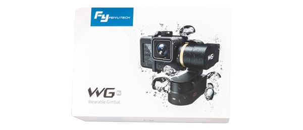 Included in the pack : 1X WG2 gimbal by Feiyu…