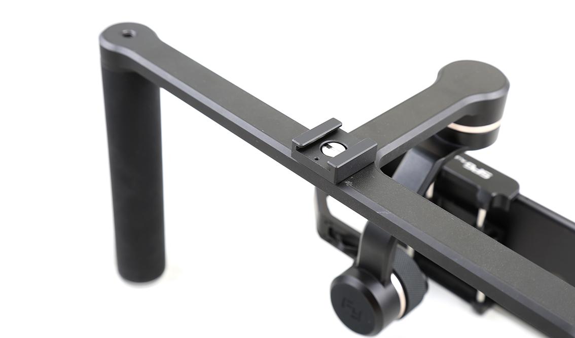 Un stabilisateur customisable et compatible avec toute une palette d'accessoires…