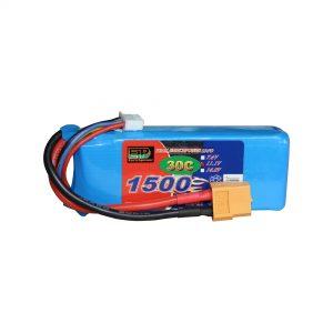 Batterie Li-Po 1500mAh 11.1V pour R Racer