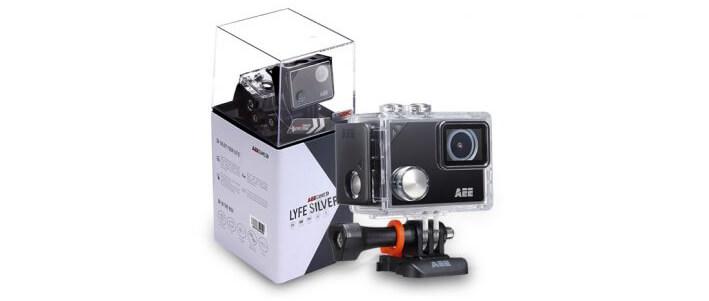 Inclus dans le pack : Caméra LYFE SILVER de AEE…
