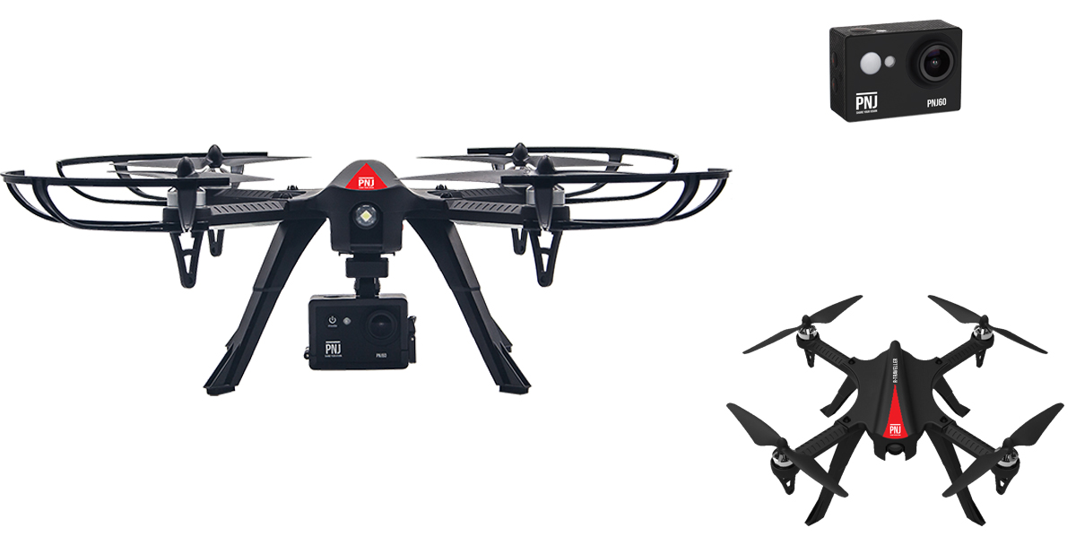 Your R Traveler FHD drone is suitable for all piloting…