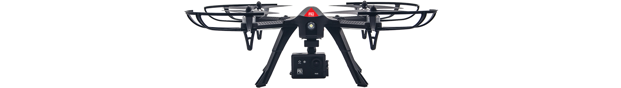 R-Traveler drone with its Full HD action camera