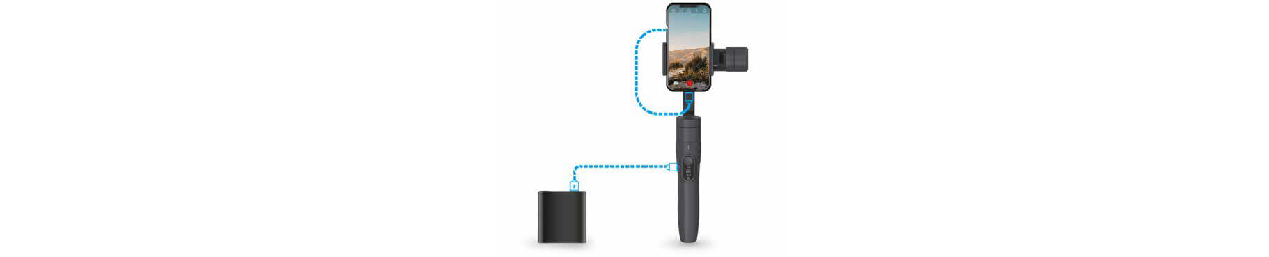 VIMBLE 2 stabilizer for smartphone