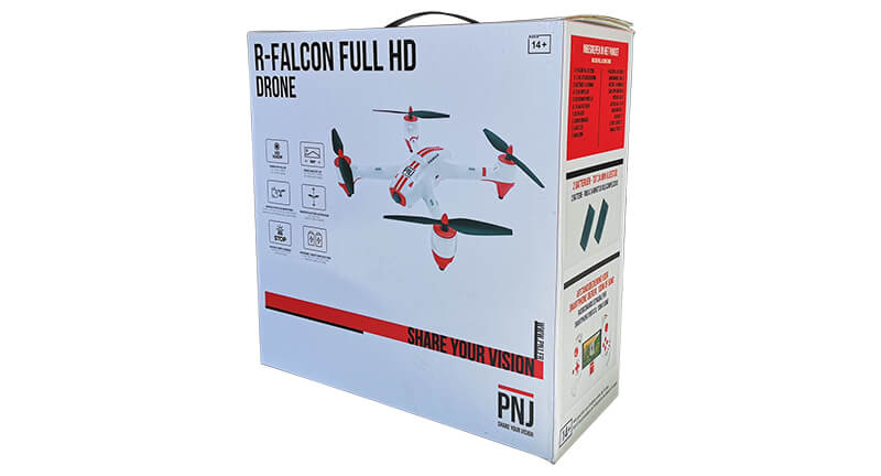 Included in the pack : 1X R-FALCON FHD drone 1X…