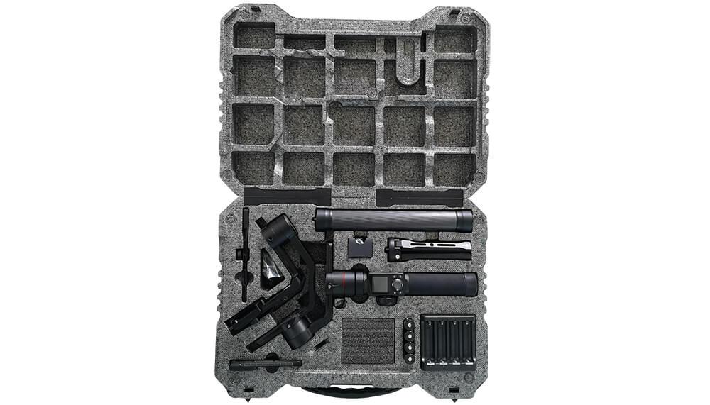 Inclus dans le pack : 1x AK4000 Stabilizer 4x 3.7V…
