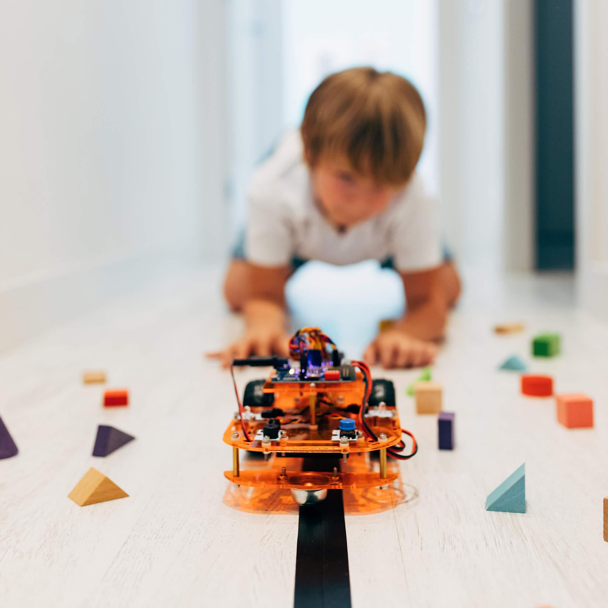 voiture robot ebotics code and drive