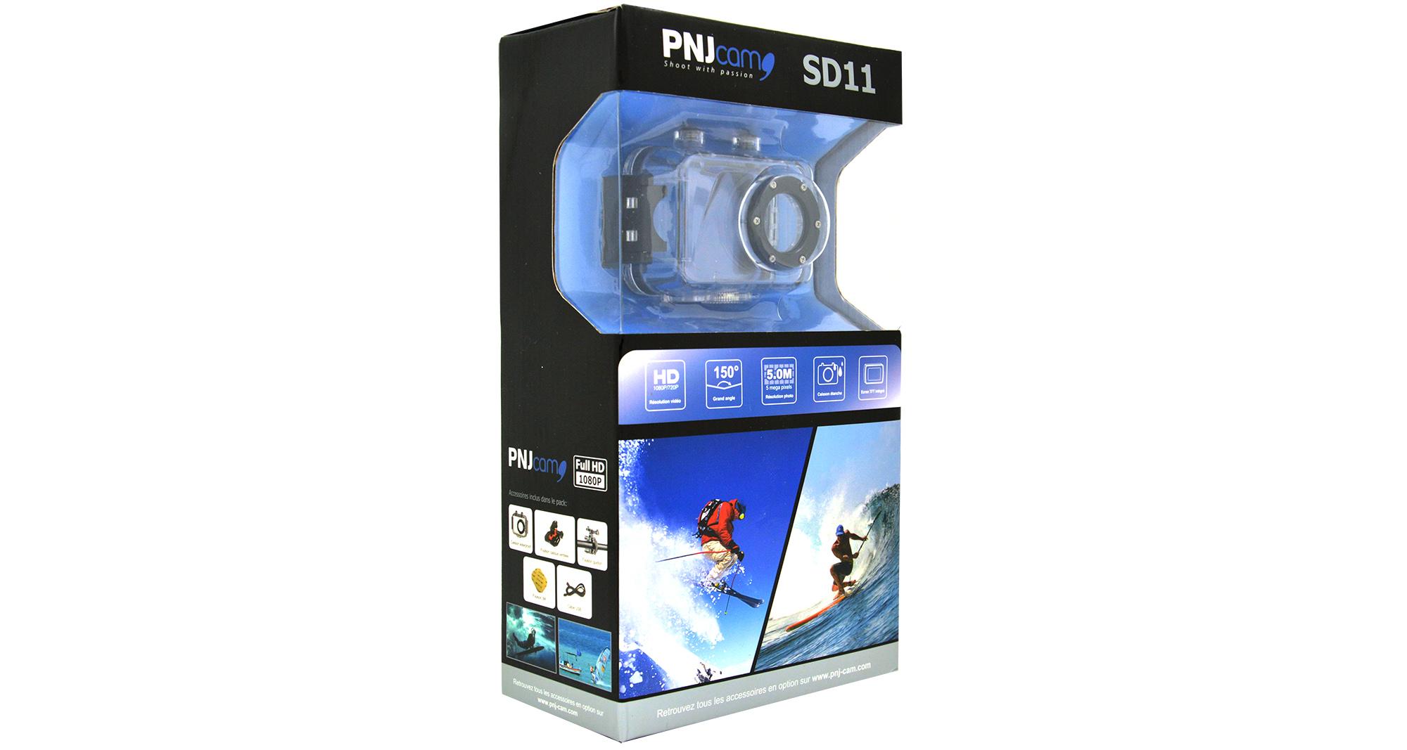 Inclus dans le pack : 1X Caméra Full HD SD11…