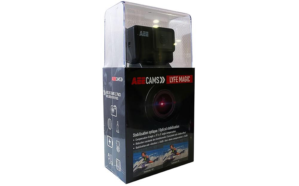 Inclus dans le pack: – Caméra Lyfe Magic – Batterie…