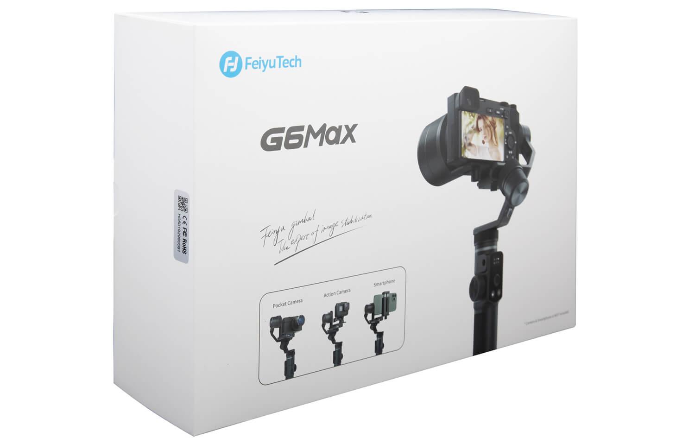 Inclus dans le pack : Stabilisateur G6MAX Câble USB C…