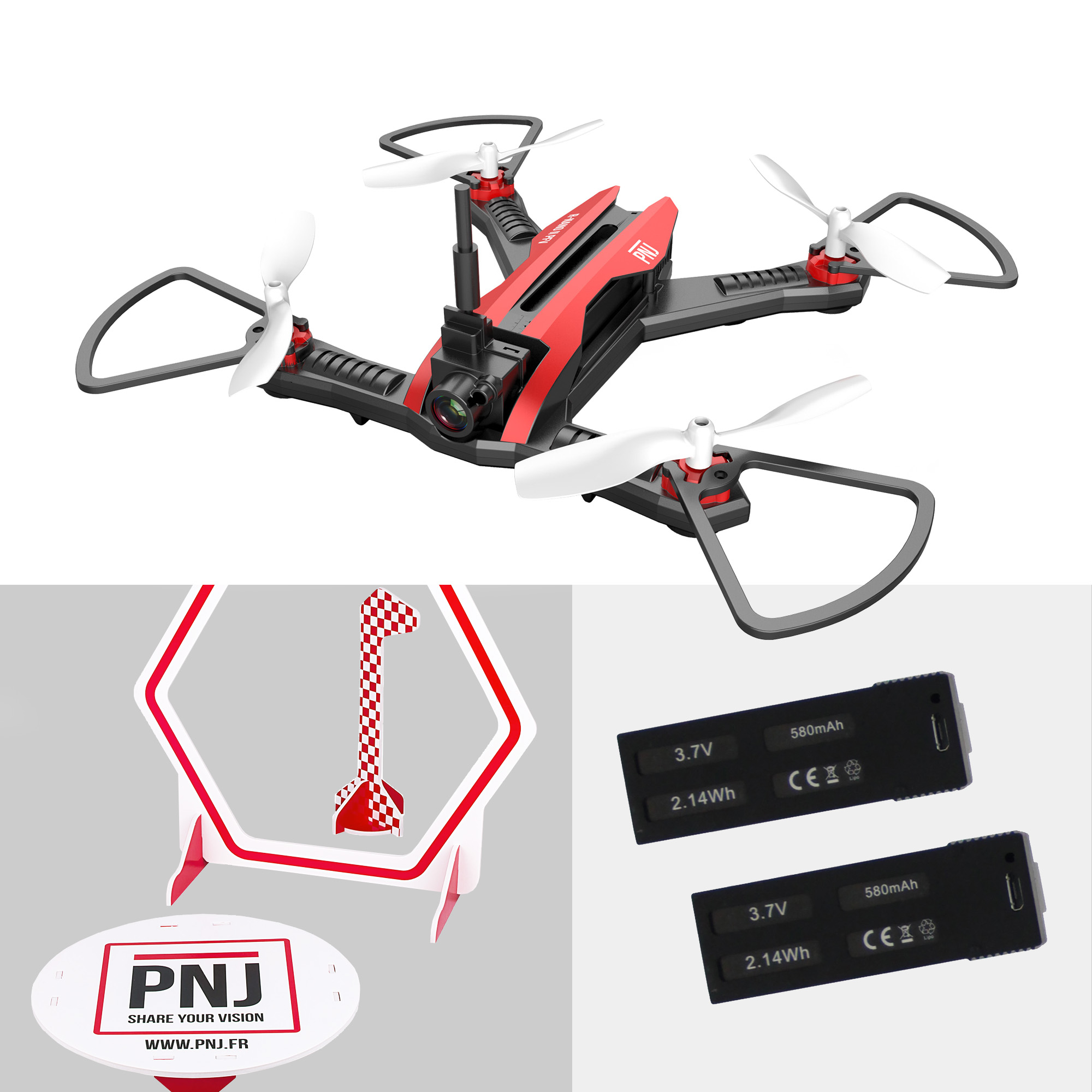 Included in the pack : 1x R NANO II FPV…