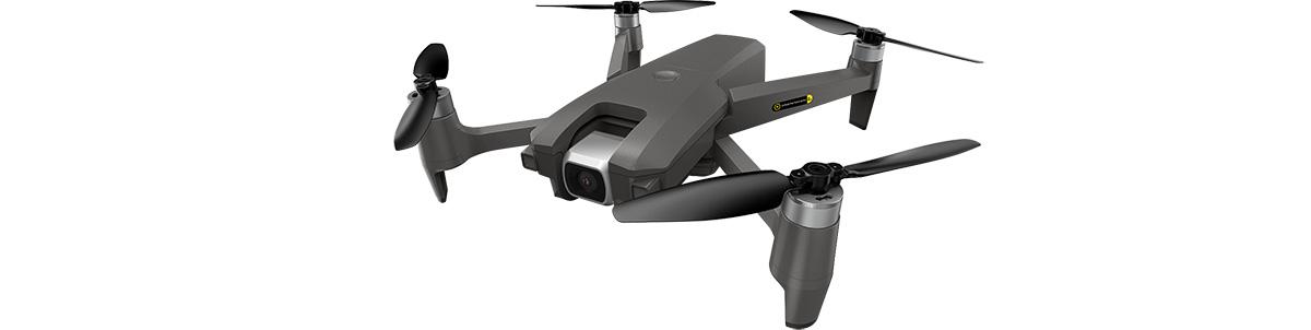 R-SKYLAB GPS – Drone pliable 4K avec caméra orientable