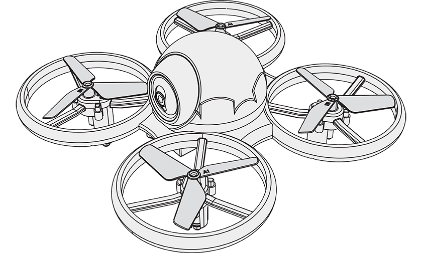 Included in the pack : 1x R-KIDO II drone 1x…