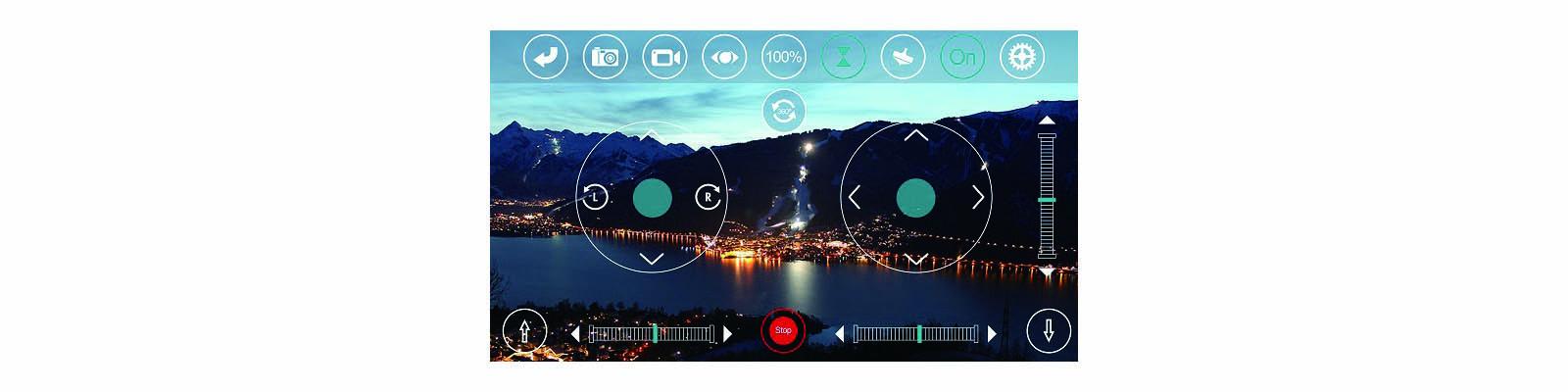 R SPY FHD – Drone d'extérieur à caméra motorisée
